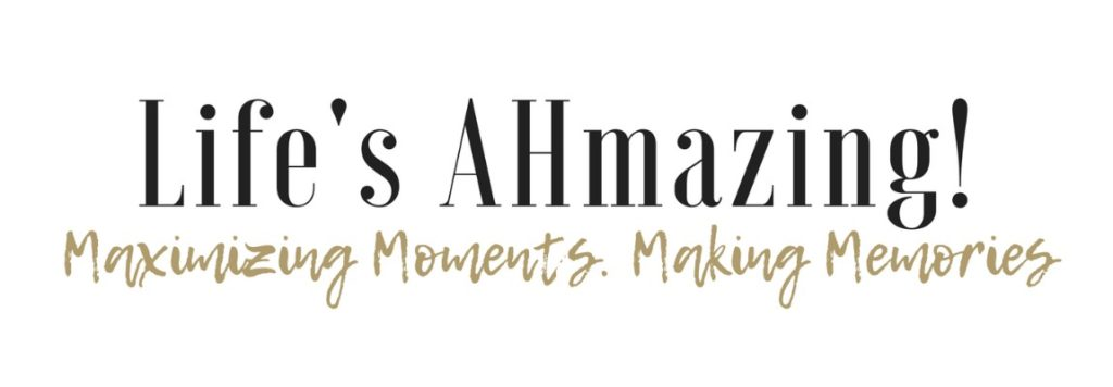 life's ahmazing blog header