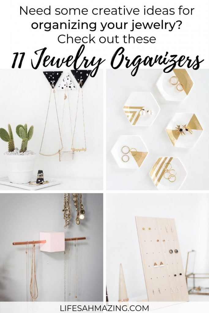 11 Creative DIY Jewelry Organizers